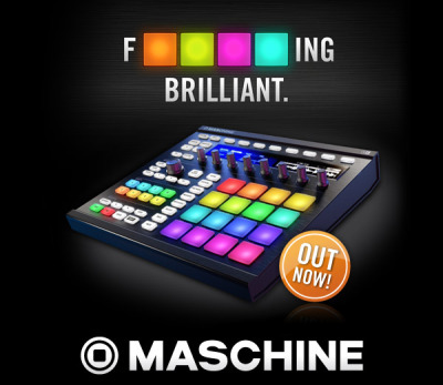 Brand new Native Instruments Maschine out.