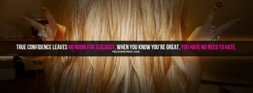 No Room For Jealousy Facebook Cover