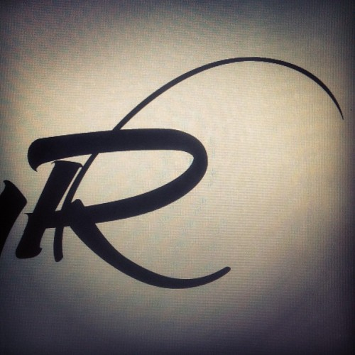 R #calligraphy #berlin #typography #lettering (Taken with Instagram)