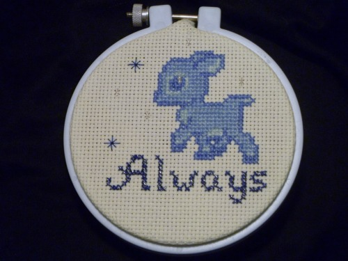 Want me to stitch something for you?  These are all pictures of things I have cross stitched.  If it can be pixelated, I can stitch it!  Here are some examples of other pixel art that is totally stitchable.   I'm trying to save for a trip to Disneyland for my kids, and it's a long trip from Canada!  If you'd like something stitched, message me and we'll work something out.