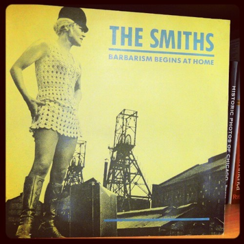 "#TheSmiths, extremely rare and scarce UK 12"" DJ promo #vinyl #vinylrecord #morrissey , in mint condition! 1985. (Taken with Instagram)"
