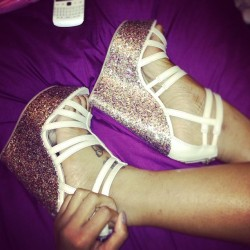 Glitterrrr 👠 (Taken with Instagram)