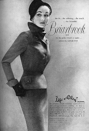 Fifties fashion advert