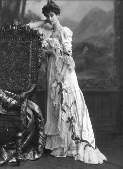 Consuelo Vanderbilt -  from a time when socialites were proper socialites