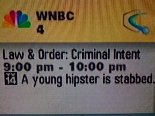 Best Episode of Law & Order Ever I knew about this before it was tragic.