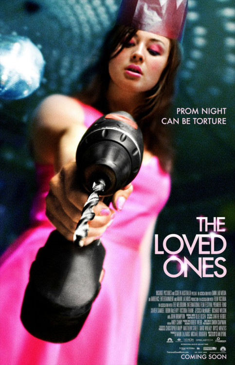 October 1 - The Loved Ones Halloween HorrorFest time! Starting the month off with one of the most fucked up movies ever. If you thought Carrie made prom a living hell, wait till you meet Lola.