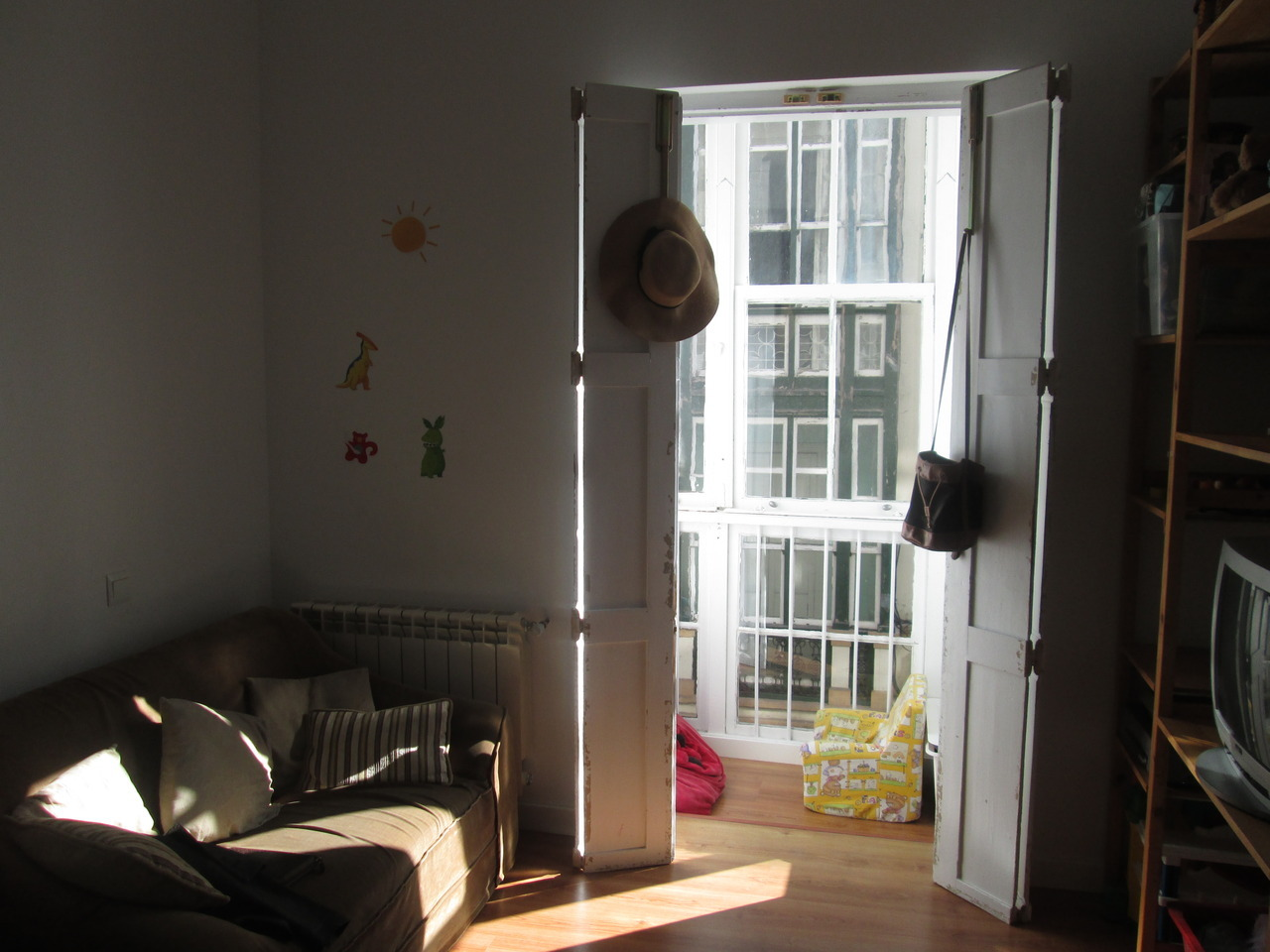 Ex-children's playroom/place to rest my head in Spain for the last three weeks I'm here