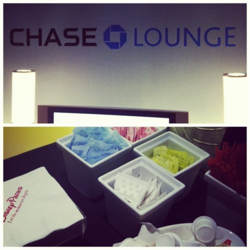 Oh, you fancy, huh? (Taken with Instagram at Chase Lounge F&W 2012)