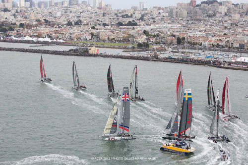 americascup:   Practice racing starts on Tuesday, ahead of Match Race Qualifying on Wednesday and Championship Racing Thursday through Sunday.