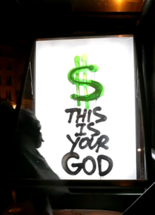 everythingslive:  $ IS YOUR GOD!!