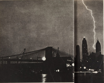 Inside Flap, Weegee. Naked City. New York: [1945]. First edition, second large printing.