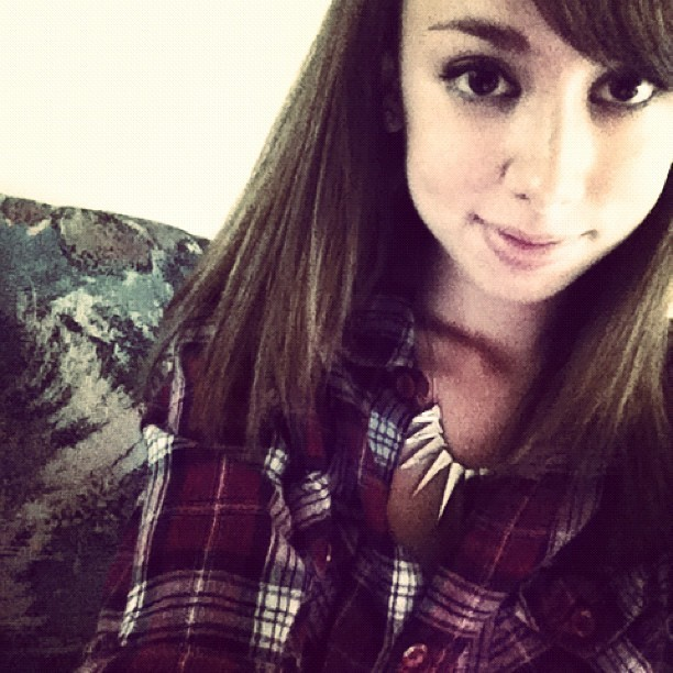 October is here and that means it is time for flannel (Taken with Instagram)