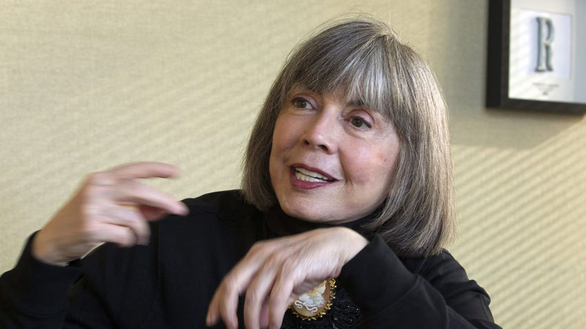 amandaonwriting:  Literary Birthday - 4 October Happy Birthday, Anne Rice, born 4 October 1941 Anne Rice: On Writing My advice is the same to all. If you want to be a writer, write. Write and write and write. If you stop, start again. Save everything that you write. If you feel blocked, write through it until you feel your creative juices flowing again. Write. Writing is what makes a writer, nothing more and nothing less.Ignore critics. Critics are a dime a dozen. Anybody can be a critic. Writers are priceless. Go where the pleasure is in your writing. Go where the pain is. Write the book you would like to read. Write the book you have been trying to find but have not found. But write. And remember, there are no rules for our profession. Ignore rules. Ignore what I say here if it doesn't help you. Do it your own way. Every writer knows fear and discouragement. Just write.The world is crying for new writing. It is crying for fresh and original voices and new characters and new stories. If you won't write the classics of tomorrow, well, we will not have any. Good luck. Anne Rice writes metaphysical Gothic fiction, Christian literature, and erotica. She is best known for her popular novels, The Vampire Chronicles, revolving around the central character of Lestat. Two film adaptations of the series were made -  Interview with the Vampire: The Vampire Chronicles in 1994 and Queen of the Damned in 2002. From Writers Write