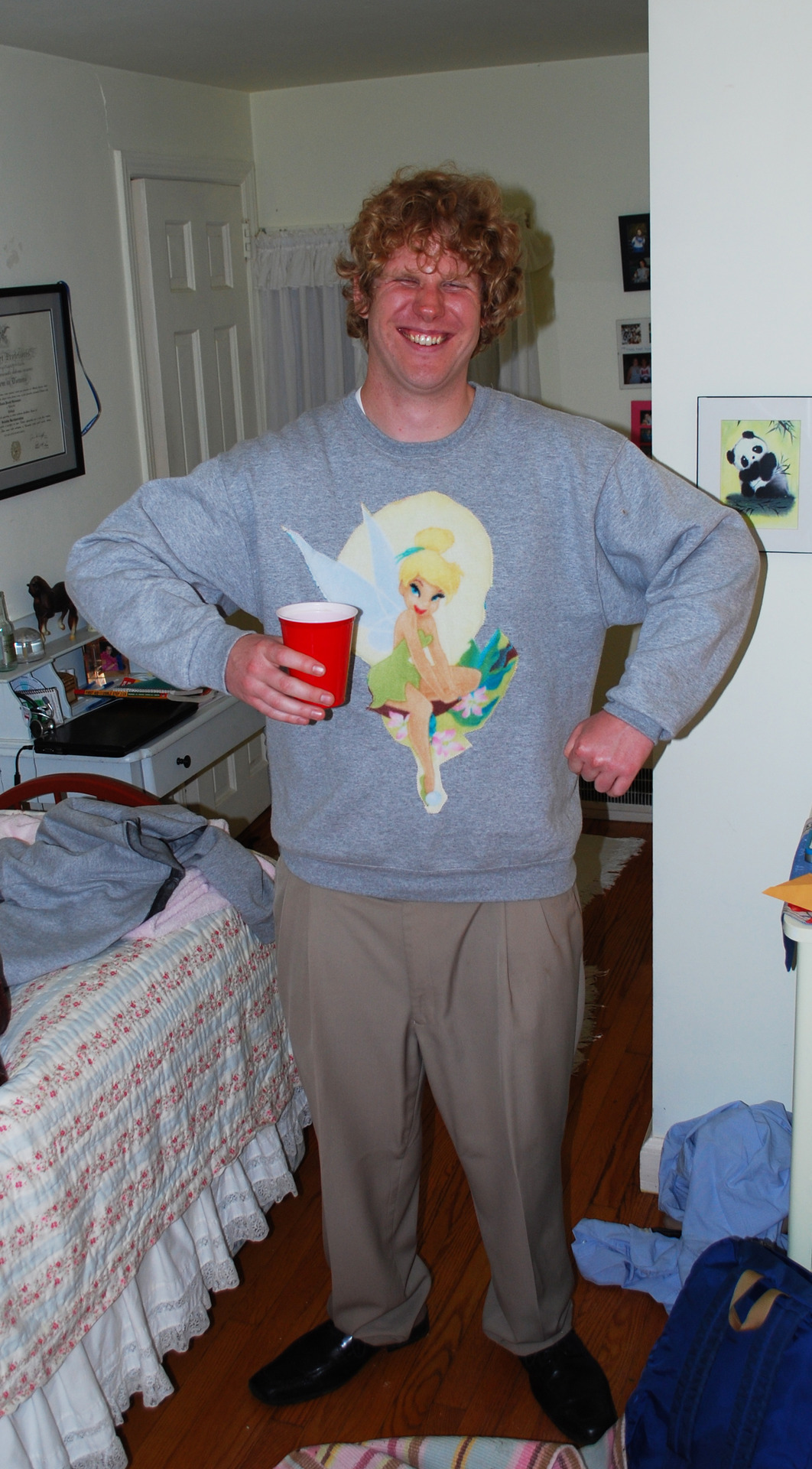 Made the sweatshirt for this very great friend. Congratulations to Brendan on his engagement.  For more original creations and content, please visit www.pzntlab.tumblr.com/tagged/PZNT   Thank you -PZNT