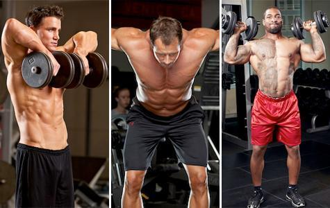 30 Minutes to 3-D Shoulders Build big, round shoulders with this high intensity, 30 minute circuit workout.