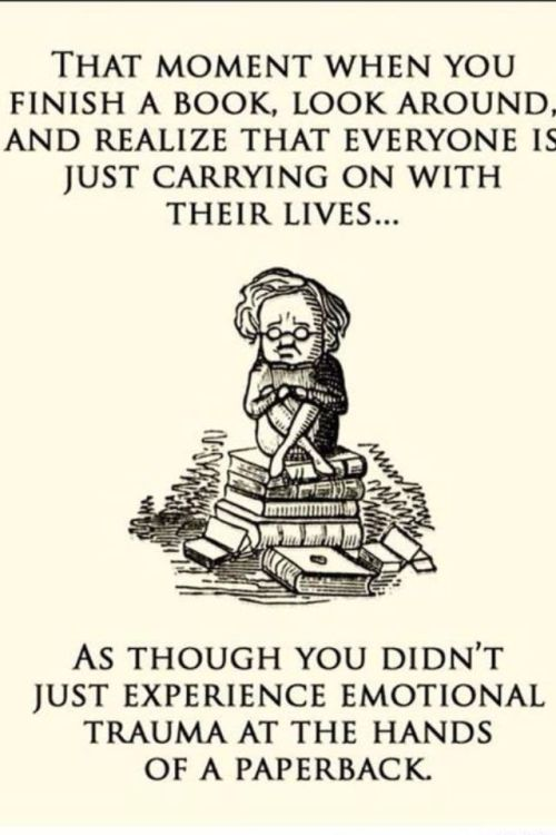 missabombictomb:  How I feel after finishing a book.