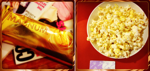 What brings you more pleasure? MAGNUM Ice Cream + a magazine or a movie + popcorn
