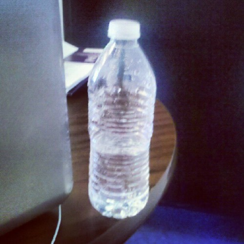 A waterbottle. (Taken with Instagram)