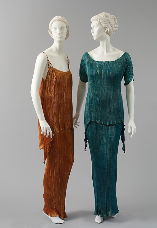 Dresses Mariano Fortuny, 1920s The Metropolitan Museum of Art