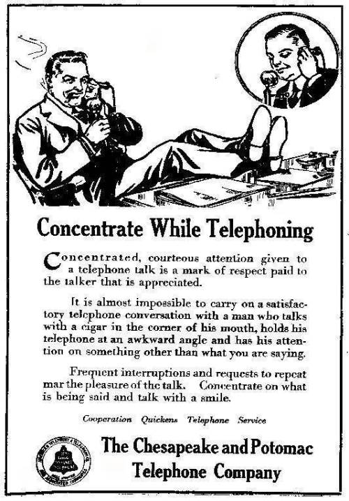 How to use a telephone, a helpful guide from 1917 That's cool and all, but they don't tell you how to send text messages or update Facebook. Via