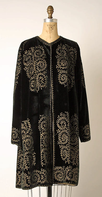 Coat Mariano Fortuny The Metropolitan Museum of Art