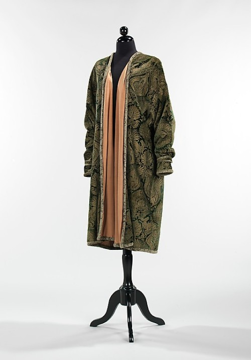 Coat Mariano Fortuny, 1930 The Metropolitan Museum of Art