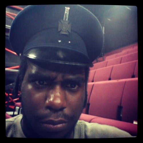 Oh snap soilder time! #solider #life #acting #school (Taken with Instagram)