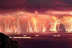 Aegean Sea Lightning