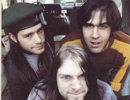 Chad Channing, Chris Novoselic, Kurdt Kobain - October, 1988.