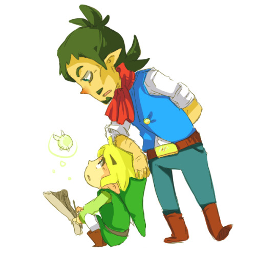 imstillyourzelda:  hey, kid by ~EweRox