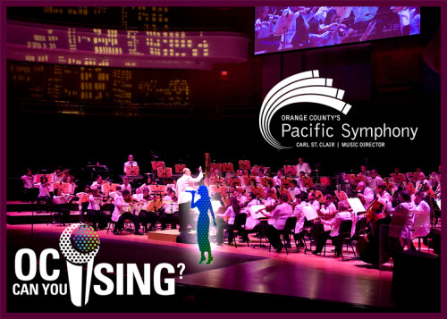 "Video applications for Pacific Symphony's ""OC Can You Sing?"" are now being accepted! Warm up those vocal chords and film yourself singing your favorite song for a chance to perform onstage with Pacific Symphony! And be sure to tell your friends!"