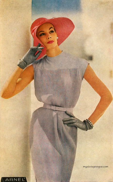 Arnel / Celanese 1957 - Dress by Sacony