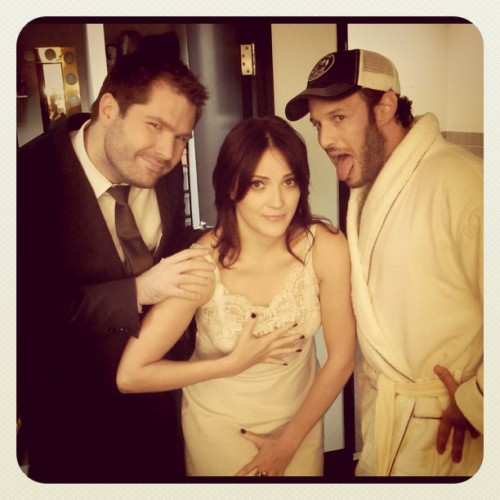 Tonight on Chelsea Lately (10/01/12), Jen Kirkman and Josh Wolf…take their clothes off? I have no clue.
