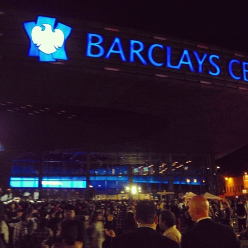 Huge crowd already (Taken with Instagram at Barclays Center)