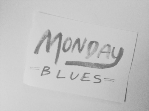 I've got them Monday bluesss. Also, follow me on Instagram! @seenbywendy