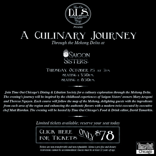 Join the D.L.S. for A Culinary Journey at Saigon Sisters