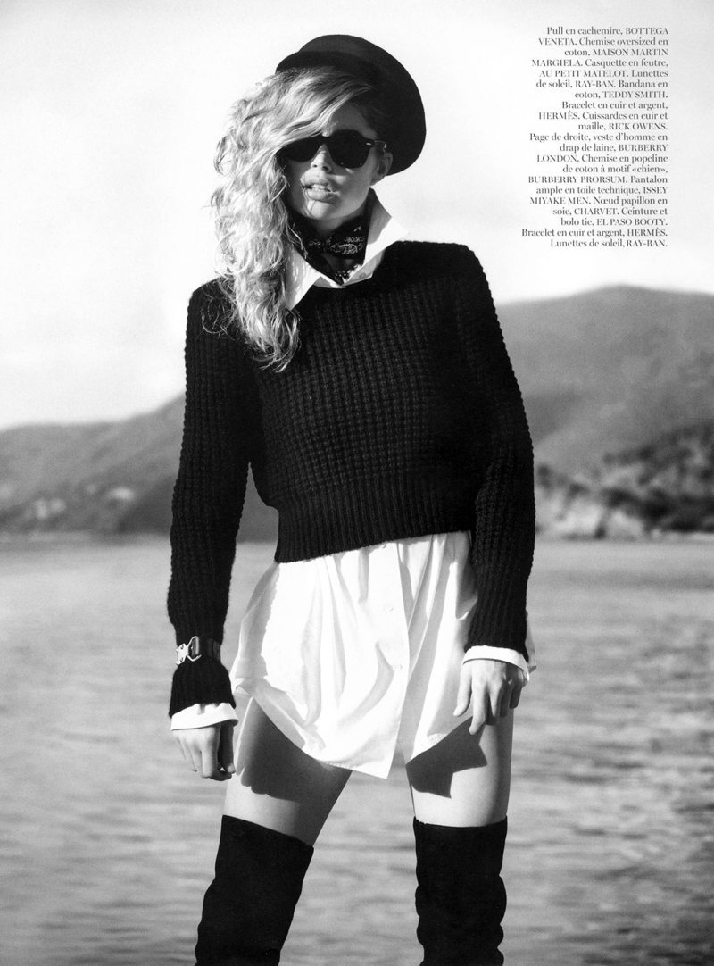 Doutzen Kroes photographed by Inez & Vinoodh for Vogue Paris, October 2012