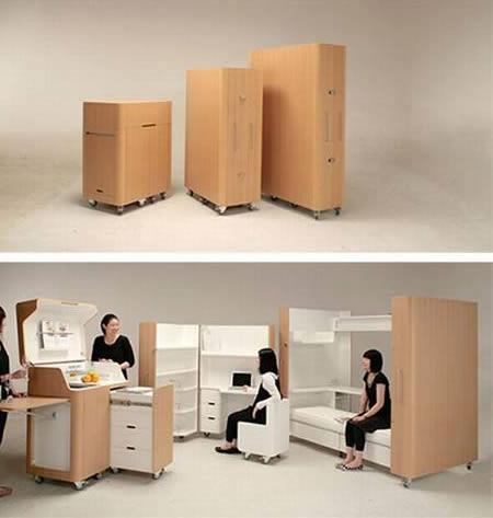 Portable room Designed by Japanese company Atelier OPA