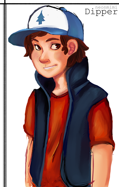 can i just say i really like gravity falls so have a dipper ♥