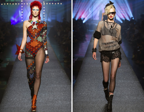 Paris Fashion Week: The Jean Paul Gaultier Show I have a fitting for the Ziggy Stardust in Paris, this weekend.