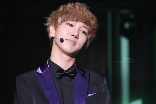 yesung's innocent/pitiful face... >3