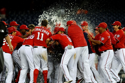 Nationals make history with first division title