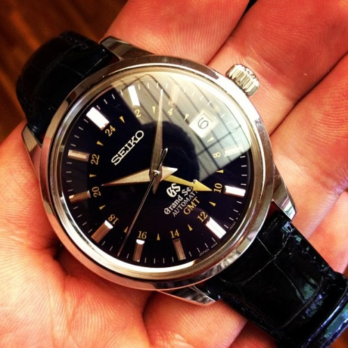 Gorgeous limited edition GMT from Grand @Seikowatches (Taken with Instagram)