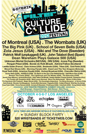 What band are you most excited to see at Culture Collide?