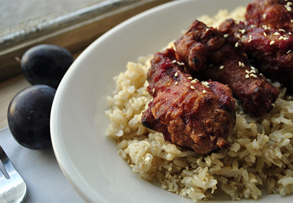 myliferunsonfood:  Plum Cardamon Chicken Wings. (New Recipe)