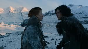 Game of Thrones Music Challenge: Day 21. Jon Snow (and Ygritte). Death Cab for Cutie. The Ice is Getting Thinner We're not the same, dear, as we used to be.The seasons have changed and so have we.There was little we could say, and even less we could doTo stop the ice from getting thinner under me and you.We bury our love in the wintery graveA lump in the snow was all that remained.But we stayed by its side as the days turned to weeksAnd the ice kept getting thinner with every word that we'd speak.And when spring arrivedWe were taken by surprise when the floes under our feet bled into the seaAnd nothing was left for you and me.We're not the same, dear,And it seems to meThere's nowhere we can goWith nothing underneath.And it saddens me to sayBut we both know, well, it's trueThat the ice was getting thinnerUnder me and you.The ice was getting thinnerUnder me and you.
