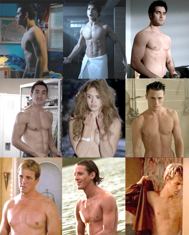dylanolordy:  Special Edition Shirtless Teen Wolf Cast -Dylan O'Brien, Tyler Posey, Tyler Hoechlin-Keahu Kahuanui, Holland Roden, Colton Haynes-Linden Ashby, Ian Bohen, J.R Bourne  In honor of the fact that I actually have followers now! :D