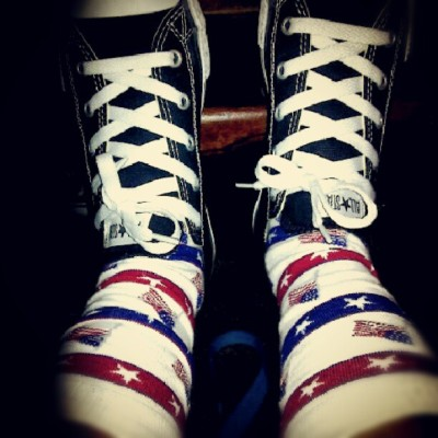 Feelin' patriotic. Kind of. (Taken with Instagram)