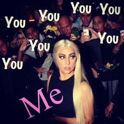I don't have fans I have peasants ! #ladygaga#jk#littlemonster#flawless#devilofpop#queenofpop (Taken with Instagram)