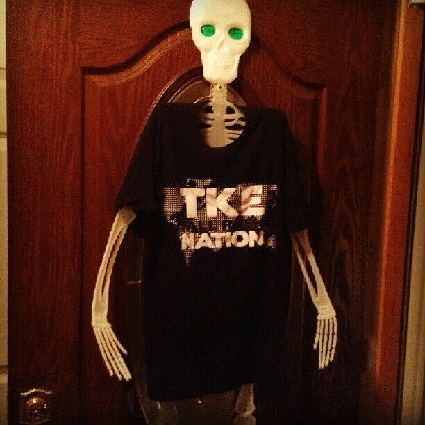Johnny #skeleton #Tke #Halloween #lmao (Taken with Instagram)